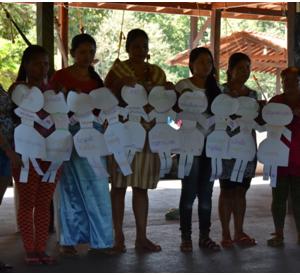 Mulheres indígenas do Oiapoque falam da importância do trabalho em conjunto