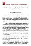 """Seminário """"Construindo um espaço de diálogo entre as mulheres Wajãpi e as instituições de saúde indígena""""  - Documento Final de Proposta"""