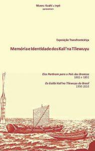 Folder da Exposição Memória e Identidade dos Kali'na Tïlewuyu