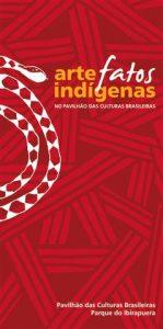 Folder da Exposição ArteFatos Indígenas