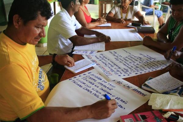 grupo professores indigenas