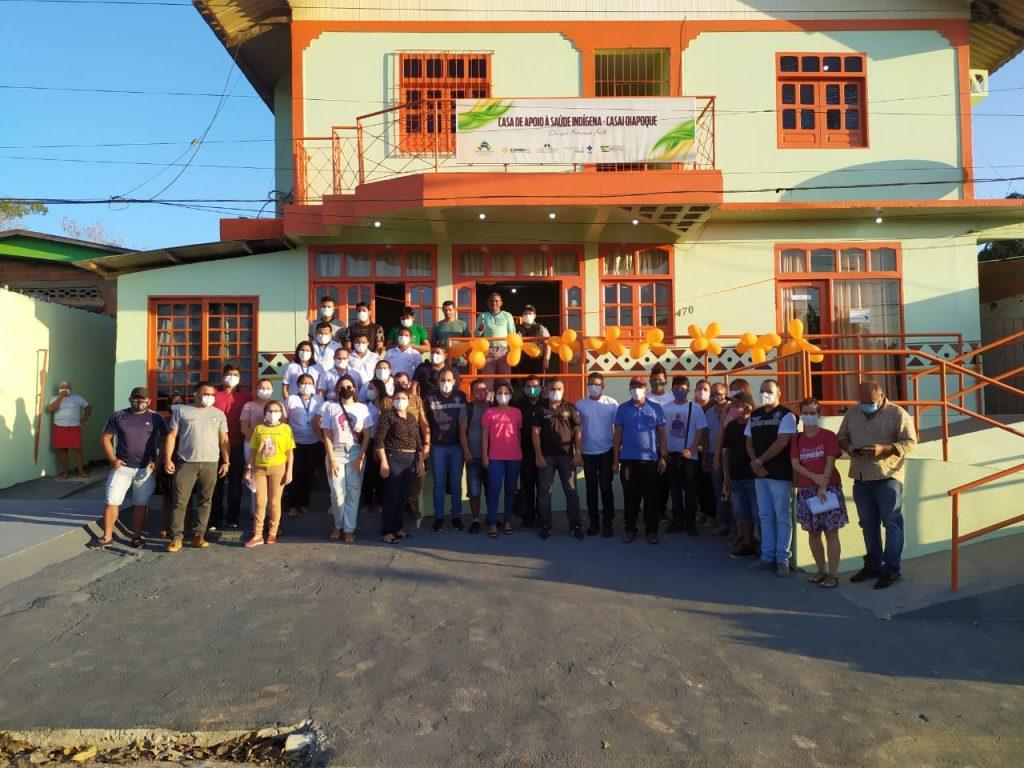 CASAI Oiapoque é reformada pela parceria entre DSEI, Iepé e CCPIO