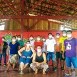 Agentes Indígenas de Saúde e de Saneamento participam de ações de enfrentamento à COVID-19 na Terra Indígena Uaçá realizadas pela parceria entre Iepé, DSEI e CCPIO