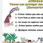 Materiais sobre coronavírus para os povos do Oiapoque